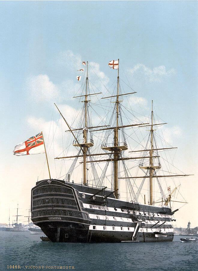 Linienschiff - Entwicklung des Segelschiffes