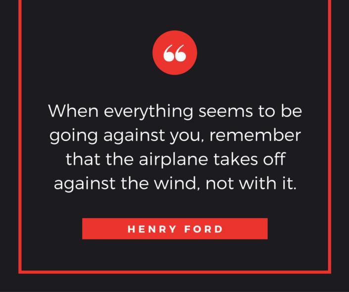 Tolles motivierendes Zitat von Henry Ford
