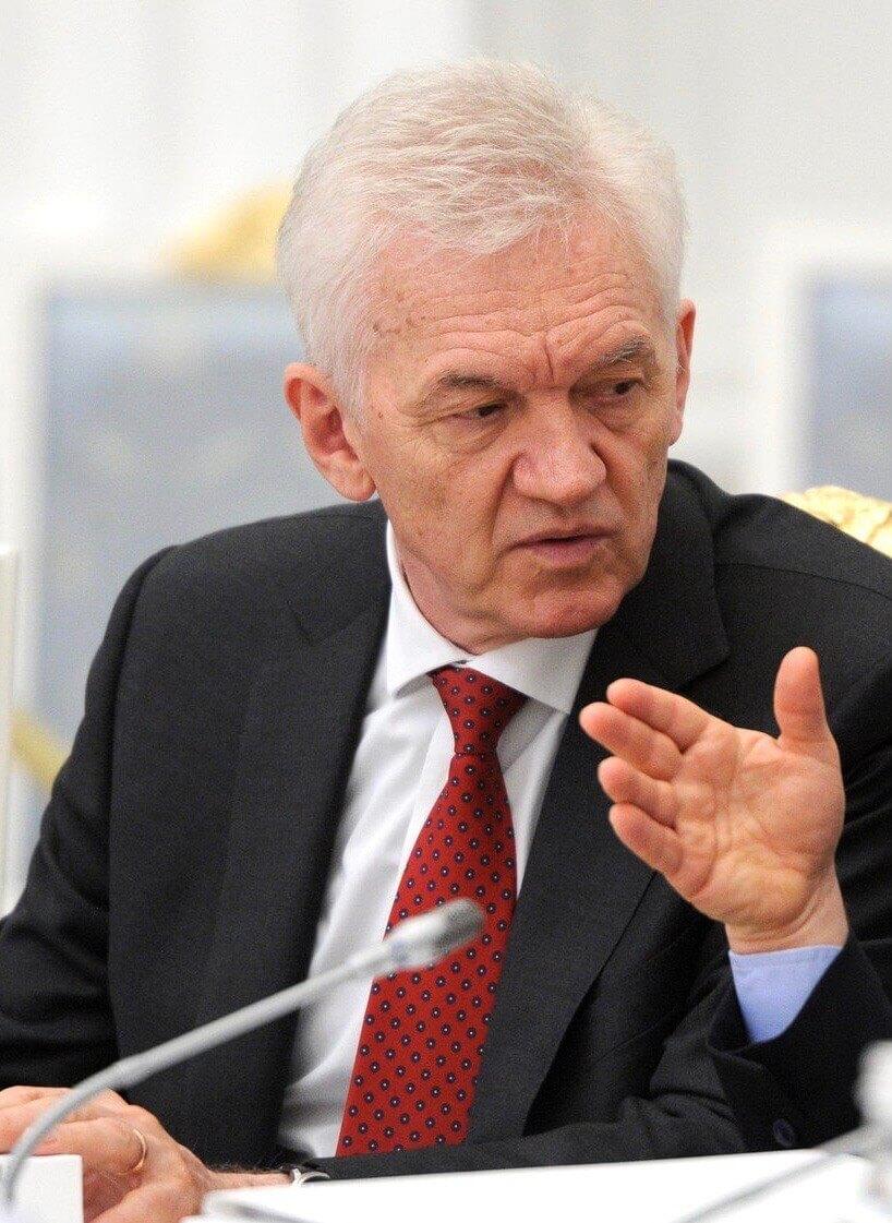 Treffen des Vorsitzenden der russischen Hockey Liga