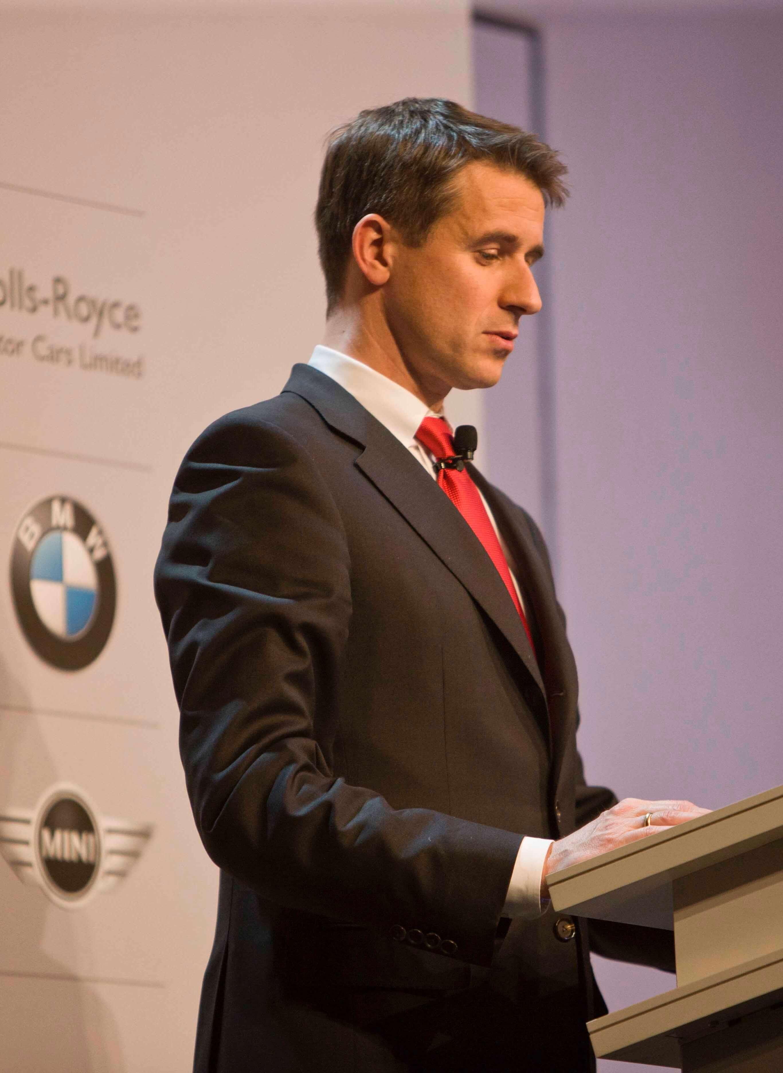 BMW Hauptversammlung, Sprecher Stefan Quandt